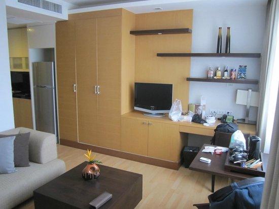 Grand Sukhumvit Hotel Bangkok: Standard Suite - Lounge