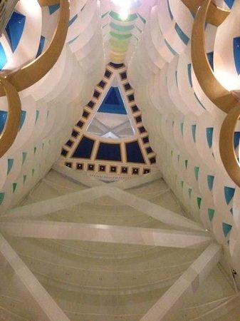 Burj Al Arab Jumeirah: atrium
