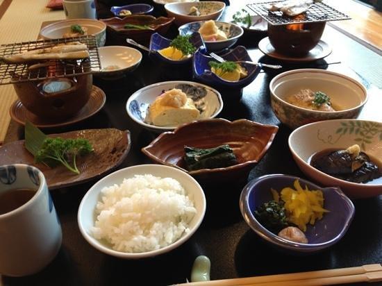 Kawayu Onsen Fujiya: 朝食