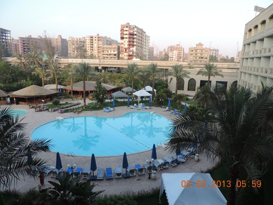 Grand Pyramids Hotel: view from room