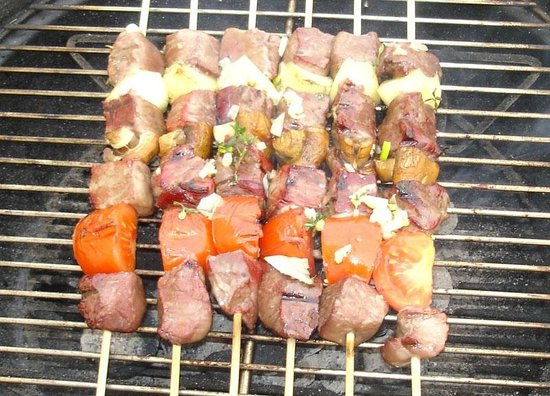 L'After Beach : beef kebab brochettes boeuf