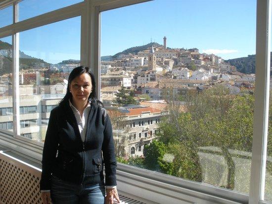 Hotel Alfonso VIII de Cuenca: Vista desde terraza-comedor