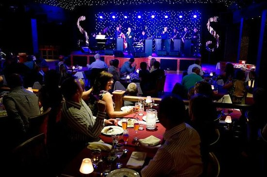 dine and dance at The Sands venue near the Tower.