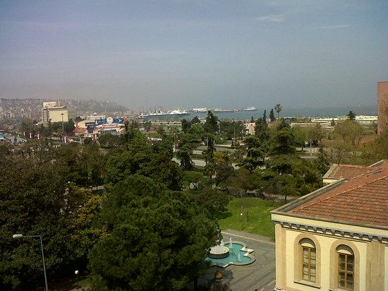 Samsun Park Otel: View of Black Sea from Samsun park Hotel