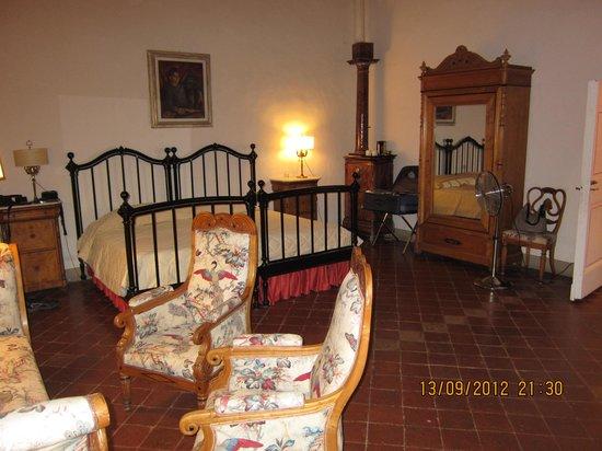 Badia a Coltibuono : Наша комната