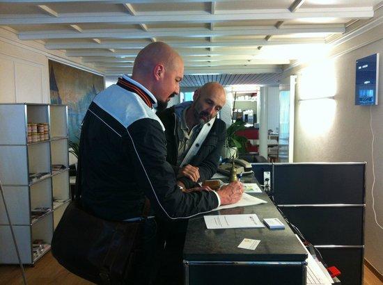 Hotel Roter Ochsen : Reception