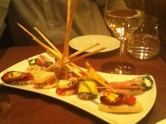 Whispers Of Wine : Tapas plate