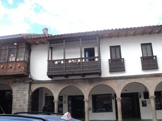Casa Andina Classic Cusco Plaza: En el balcon