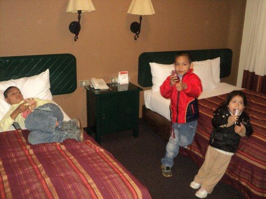Casa Andina Classic Cusco Plaza: Cada uno escogiendo su cama