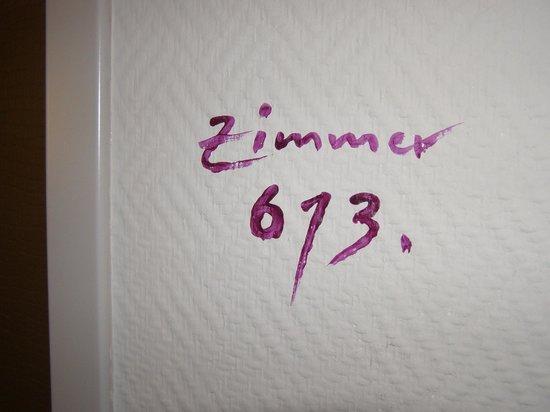 Der Wilhelmshof: Zimmer Nummern
