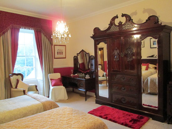 Priskilly Forest Country House with Golf Club: Celtic room at Priskilly
