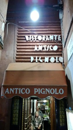 Antico Pignolo : My view walking in