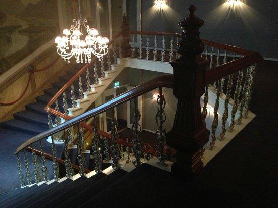 Clarion Hotel Ernst: Лестница