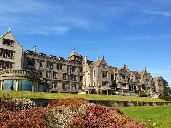 Bovey Castle Hotel: Bovey Castle from the trail