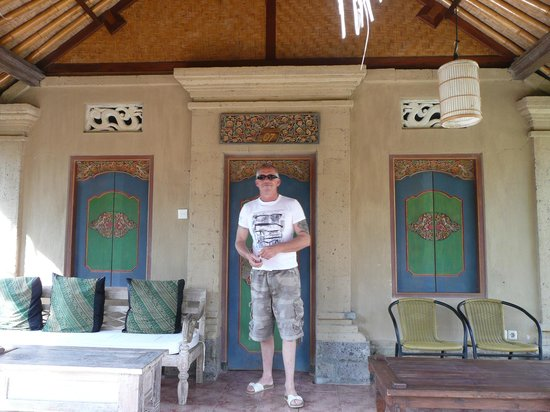 Puri Taman Sari : Entrée de la chambre