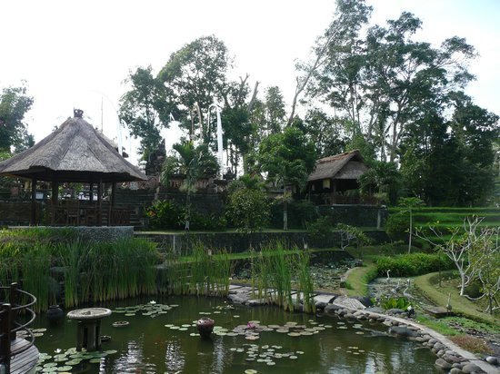 Puri Taman Sari : Vue d'ensemble restaurant