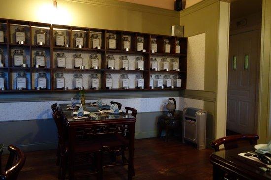 Restaurant Zen : Grande sélection de thés et tisanes