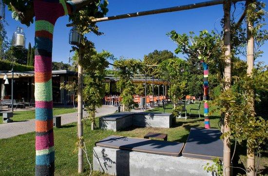 El jardi de l 39 abadessa barcelona pedralbes restaurant for Hotel el jardi barcelona