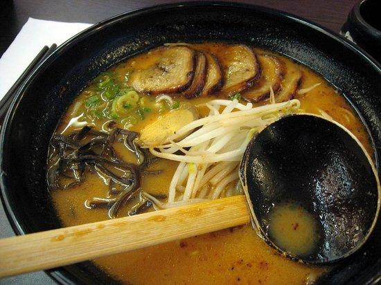 Ajisen Ramen: Ajisen BBQ Pork Ramen soup - same thing from Sheppard and Yonge location