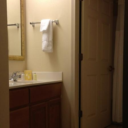 Sonesta ES Suites Charlotte : separate bathroom and washroom