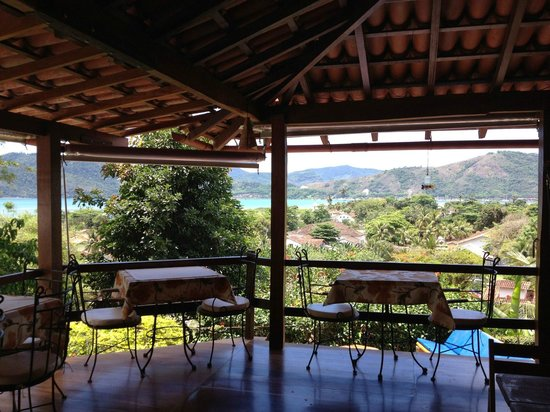 Pousada Morro do Forte: The view from the breakfast area