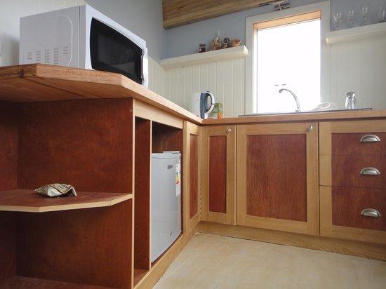 Mi Palafito Apart & Suite: kitchenette de suite