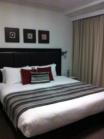 Meriton Serviced Apartments Brisbane on Adelaide Street: Bedroom