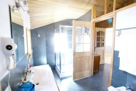 Mi Palafito Apart & Suite: cabina ducha de suite
