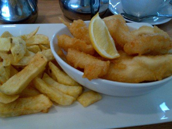 Skyliner Restaurant : Gluten free seafood platter
