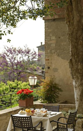 Casa Torre Margherita: the garden