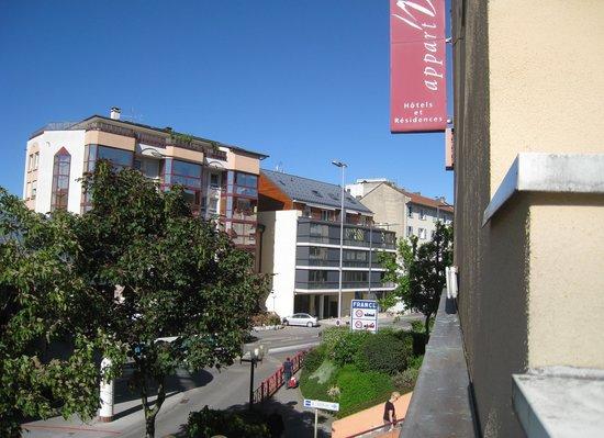 Geneva Residence - Appart'Valley - Gaillard: depuis la fenêtre de notre appartement