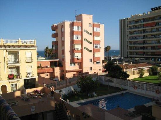 Hotel Boutique El Tiburón: Looking towards the sea
