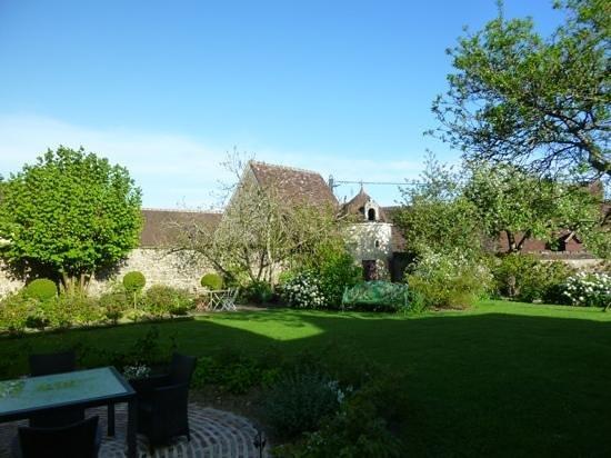 The garden, Hotel de Suhard