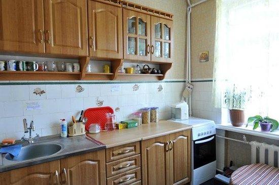 Ester Hostel: The kitchen