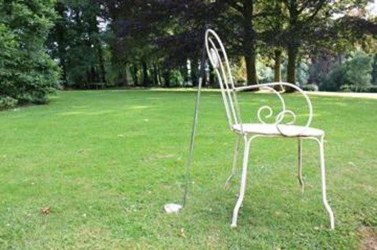 Le Chalet du Bel Event : Il giardino