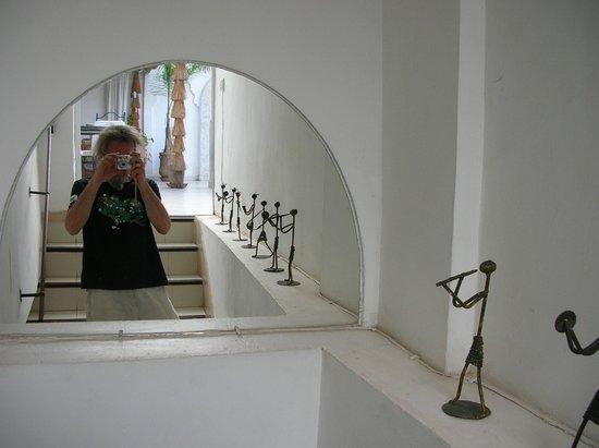Riad Aguaviva: En las escaleras que dan a la terraza