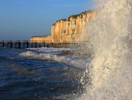 Le Chalet du Bel Event : Veules les Roses, in riva al mare