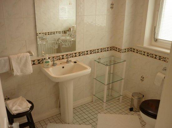 Ross Castle Lodge: salle de bains