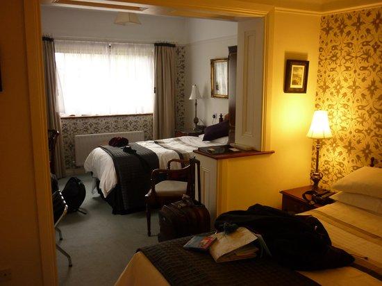 Ross Castle Lodge: la chambre