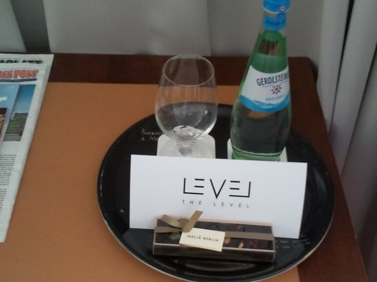 Melia Berlin: A little gift and the general manager's letter