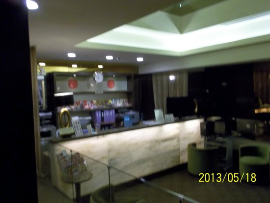 The Residence At Singapore Recreation Club: Reception Area