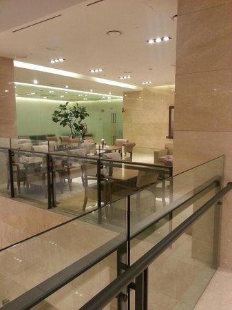 BEST WESTERN Premier Guro Hotel: restaurant + salle de sport ( au fond )