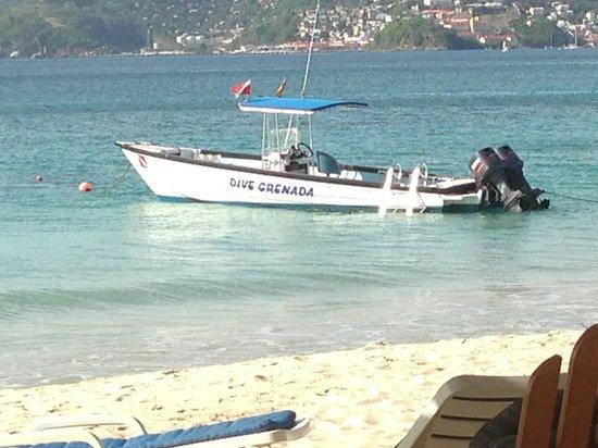 Mount Cinnamon Resort & Beach Club : Diving with Dive Grenada