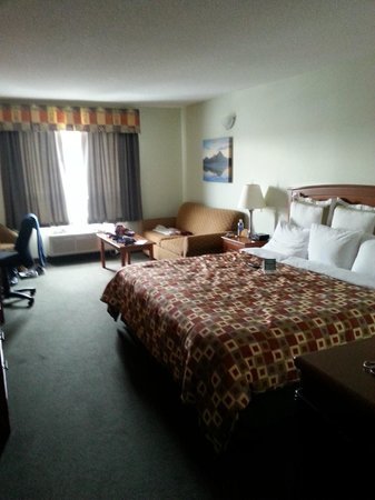 Service Plus Inns & Suites Calgary: king size room