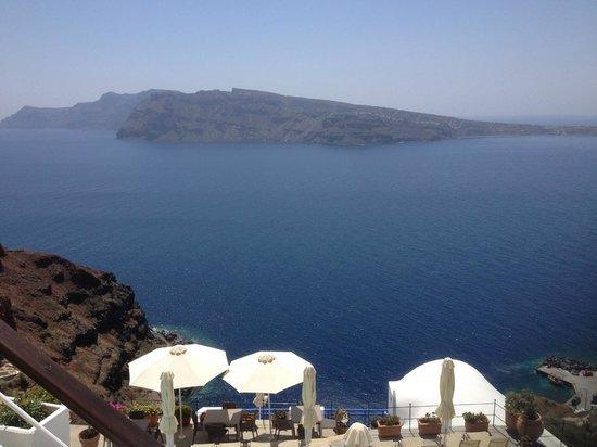 Fanari Villas: view from room 2