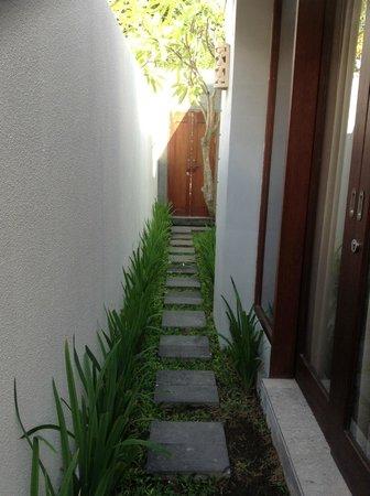 Jas Boutique Villas: Main Door - Room Door