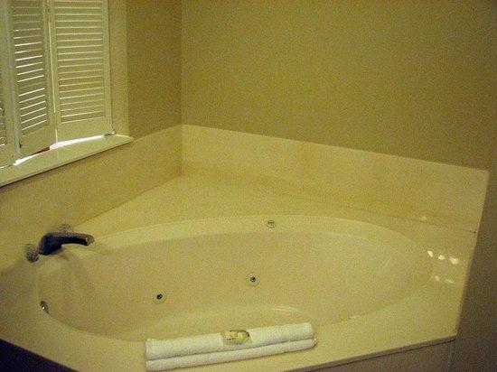 Wyndham Ocean Walk: Whirlpool tub just off Master Bedroom.