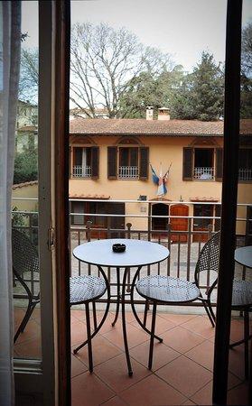 Hotel Panama: вид на балкон