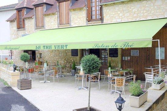 Terrace at Le Thé Vert