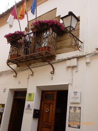 Hotel La Morada de Juan de Vargas: Puerta principal